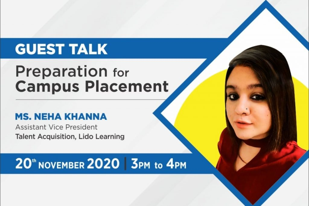 Guest Lecture - Preparation for Campus Placement - Jaipuria school of business Ghaziabad
