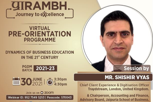 Dynamics of Business Education in the 21st Century by Mr Shishir Vyas