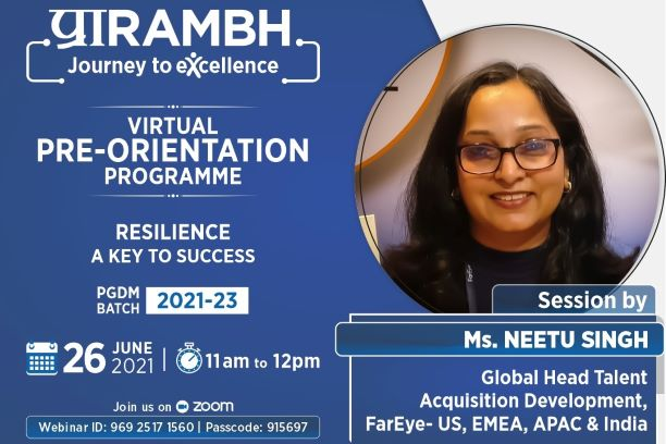 Resilience – A Key To Success by Ms Neetu Singh