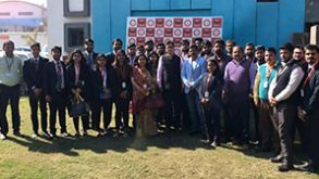 Industry visit to DICT: A learning Opportunity for JSB Students
