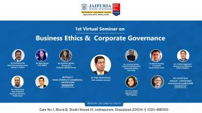 Business Ethics & Corporate Governance hosted at JSB