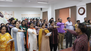 National Unity Day at Jaipuria School of Business