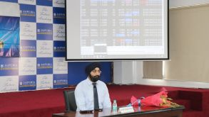 Lecture on Commodity Awareness Programme and Career Opportunities by Mr. Vinit Kaler