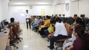 Hackathon Training Session Conducted by Dr. Damyanti Datta