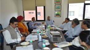 Meeting Of Board Of Governors At Jaipuria School Of Business , Indirapuram